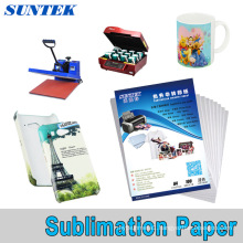A3 A4 Roll Sublimation Transfer Paper for Polyester Fabric