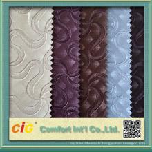 Nappe en PVC en cuir PVC en cuir décoratif en PVC