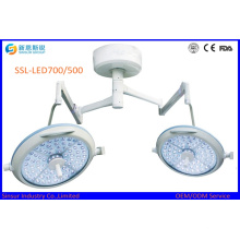 LED doble cabeza de techo de frío hospital quirúrgico operación de luz precio