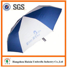 Cheap Prices!! Factory Supply automatic open 2 fold umbrella with Crooked Handle
