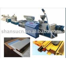 Holz und PE Profil Extrusionslinie / PE Profil Produktionslinie