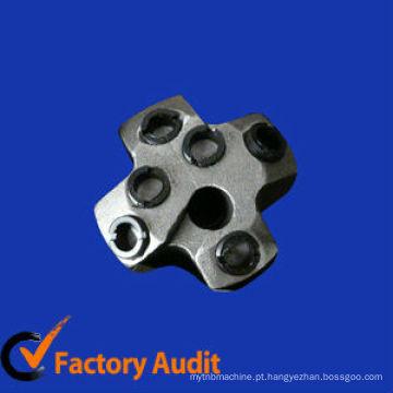 Bocados de broca do carboneto de tungstênio dos furos do costume 7 para a mineração