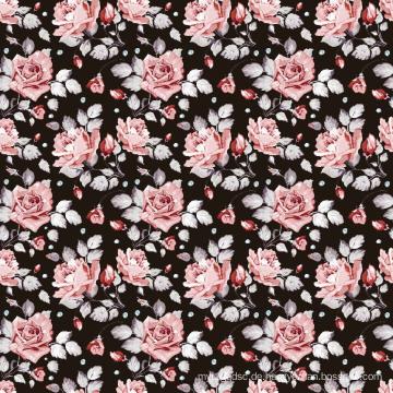 Mode Bademode Stoff Digitaldruck Asq-024