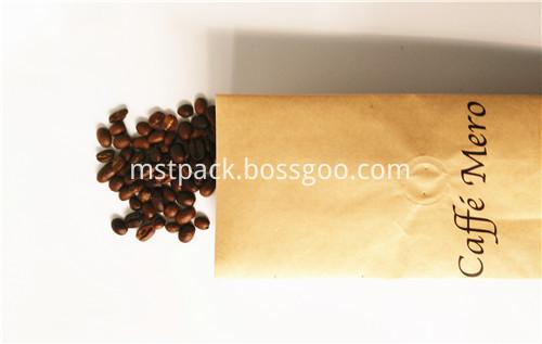 Coffee Bean Side Gusset Ba
