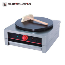 Popular Promotional commercial with CE certificate 1-Plate Electric crepe maker