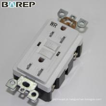 YGB-094WR Receptor de extensão de tomada de luz elétrica universal gfci