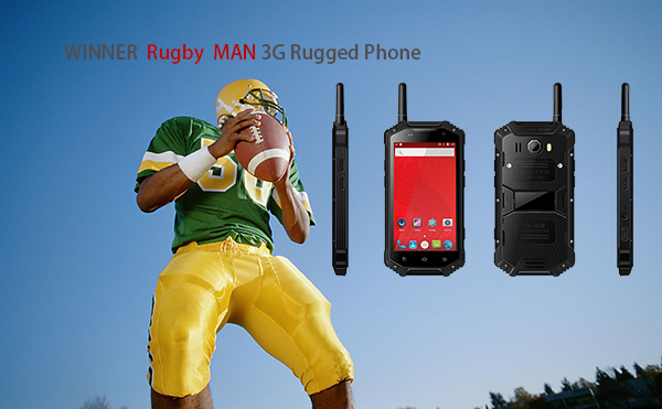 WINNER Rugby MAN 3G Rugged Phone