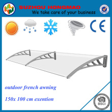 outdoor french door balcony awning / awning diy