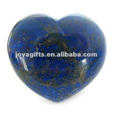 Puffy Heart shaped lapis lazuli stone 35MM
