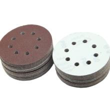 Abrasive disc hook and loop polishing velcro discs