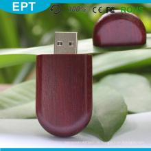 Red Wood Stick Form Großhandel Mini USB-Stick für kostenlose Probe (TW005)