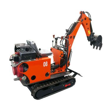 Used kubota mini excavator japanese with magnet lift