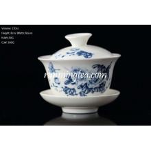 Verschiedene Muster Form Tee Cup Und Gaiwan