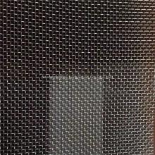Filtro de malla de alambre de acero inoxidable de tejido holandés liso