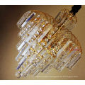 2017 wholesale crystal chandelier lighting excellent quality gold crystal for mansion hotel lobby