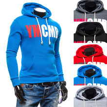 Großhandel Custom Cotton Printing Fitness Hoodie Männer