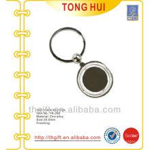Round blank Metal keyrings/keychains for custom needs
