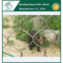 Woven zoo stainless steel wire mesh net on alibaba