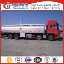 China Dongfeng 8 * 4 Antriebsrad Kraftstofftanker