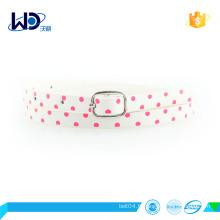 Cheap design fashion lady pu belt