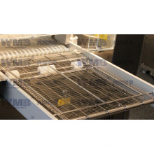 Wire Mesh Conveyor Belt Used in Assembly Line of Machinery