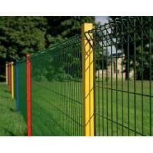 Panel recubierto de PVC de cercas soldadas para cercas