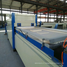 Machine de presse de stratification de vide de travail du bois