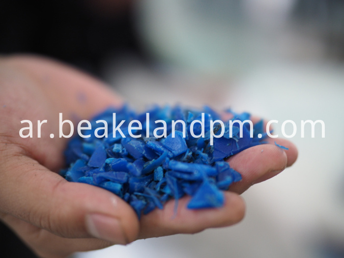 HDPE PP bottle washing recyling line