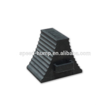 China Manufacture Heavy Duty Truck Wheel Chock Rubber