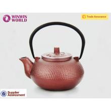 600ml Chinese Wholesale Enamel Antique Cast Iron Teapot