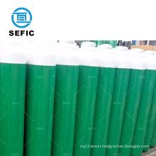 Oxygen/Acetelyne/Carbon Dioxide/Helium/Nitrogen 47L Empty Seamless Steel Argon Cylinder