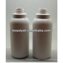 250ml garrafa de creme PE cilíndrica
