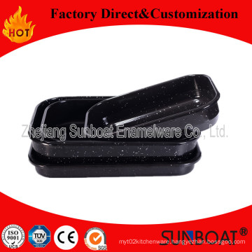 Sunboat Kitchenware/ Kitchen Appliance Enamel Baking Pan Set/Baking Pans/Baking Oven Tray /Plate