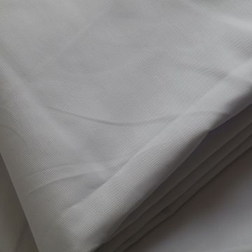 Workwear White Fabric  T/C Twill