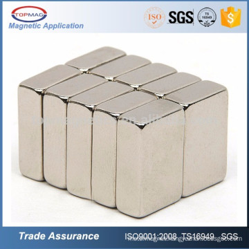 High grade block neodymium magnet for wind gererators