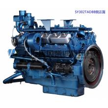 CUMMINS, 12 cylindres, 720kw, moteur diesel de Shanghai pour groupe électrogène,