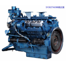 Дизельный двигатель 413 кВт / Шанхай для генераторной установки, тип Dongfeng / V