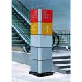 Shopping Mall Pavimento Galleria Identity Podium Diretório Direcional Totem Sign
