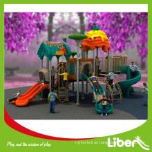 Brand New Design Commercial Outdoor Plastik Slides Typ Spielplatz Ausrüstung, Schule Spielplätze für Kinder
