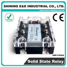 SSR-T40AA CE approuvé 40 ampères égal à Fotek AC triphasé SSR