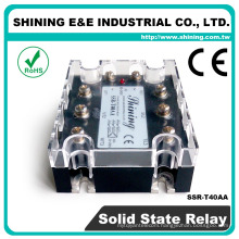SSR-T40AA CE Approved 40 Amp Equal To Fotek AC Three Phase SSR