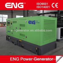 Generador diesel de la serie silenciosa de 128kw refrigerado por agua alimentado por CUMMINS