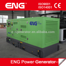 groupe électrogène diesel silencieux d'auvent 68kw de vente chaude avec le moteur CUMMINS