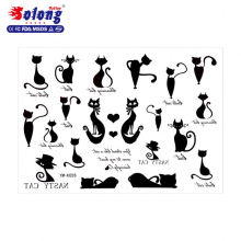 Solong Tattoo Cute Cat Shape Waterproof Temporary Tattoo Paper