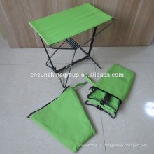 Lazer ao ar livre dobrar bolso cadeira, tamborete de pesca