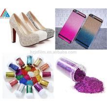 Colorido Shinny Polyster Glitter Powder para Decoração / embalagem de presente