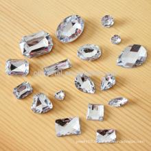 Vente en gros de pierre de verre, cristal de pierre fantaisie
