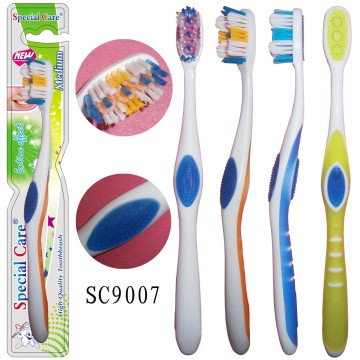 OEM Supply for Adult Toothbrush Holder Best Selling Adult Plastic Whitening Toothbrush supply to Ghana Factories