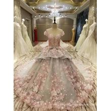 Neue Ankunft 2017 Mehrfarbenheirat-Rosa-graue Hochzeits-Kleider