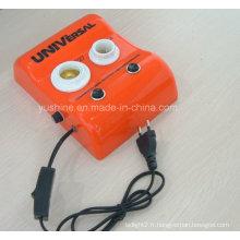 Testeur d'ampoule à LED avec boutons poussoirs